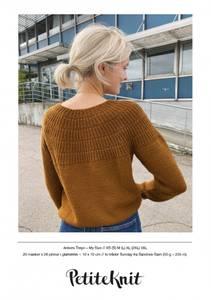 Bilde av Petite Knit - Ankers Trøye My Size - Garnpakke