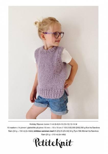 Holiday Slipover Junior - Garnpakke