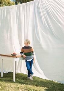 Bilde av Billys Stripegenser Barn - Garnpakke