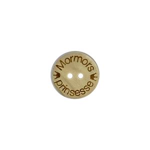 Bilde av Lys treknapp med 2 små kroner