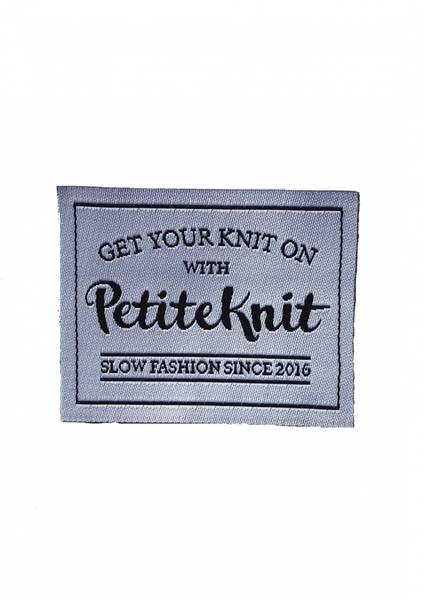 GET YOUR KNIT ON WITH PETITEKNIT-SLOW FASHION SINCE 2016 - label